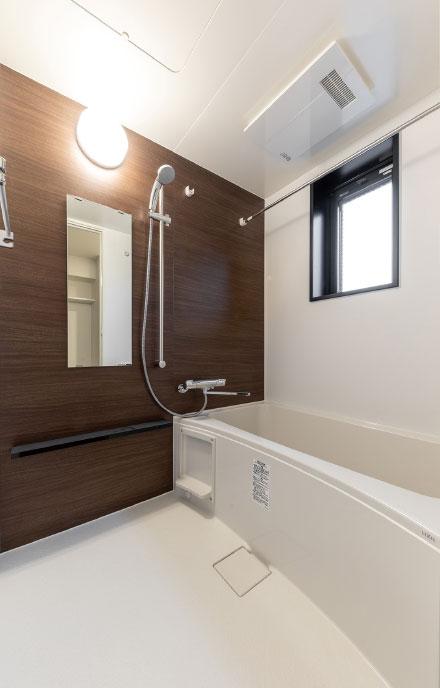 浴室(現地撮影)